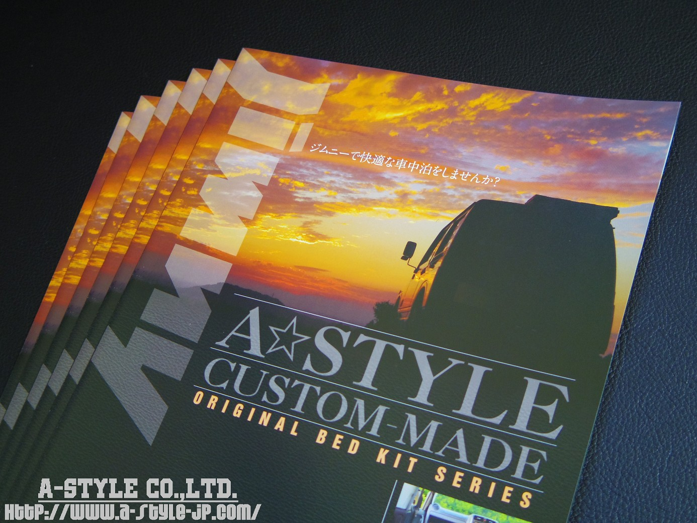 A-STYLE CO.,LTD. ORIGINAL LEAFLET